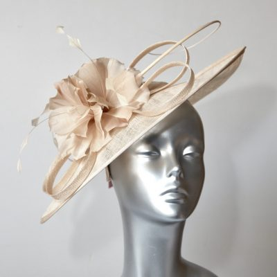 Champagne Mother of the Bride/Groom Hatinator