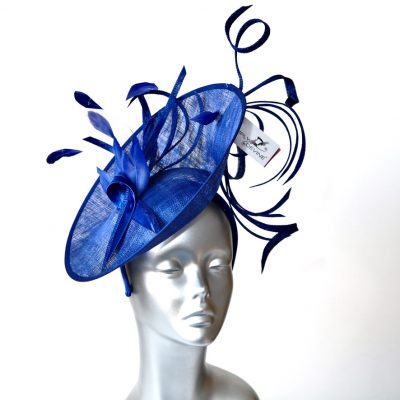 "Royal Blue ""wiggle "" Mother of the Bride/Groom Hatinator"