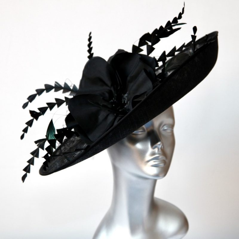 Black wedding/raceday Hatinator