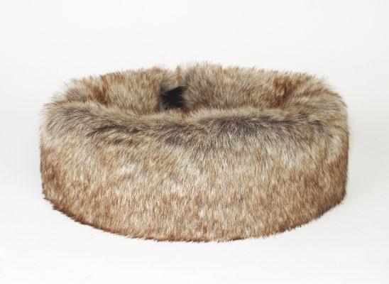 faux fur truffle huff