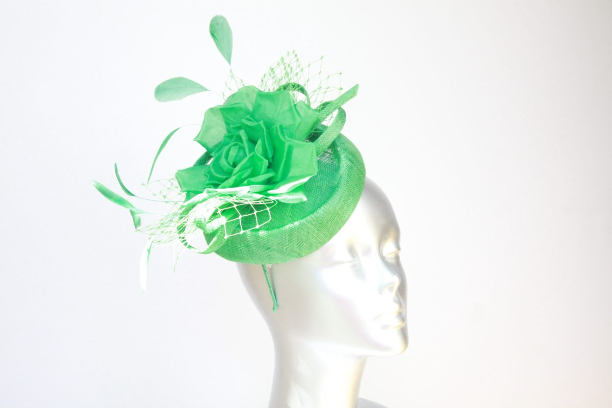 Pillbox or Race day ladies fascinator