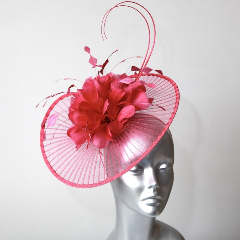 Hot pink Mother of the Bride/Groom hatinator