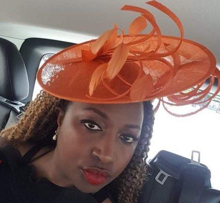Mother of the bride/groom orange hat
