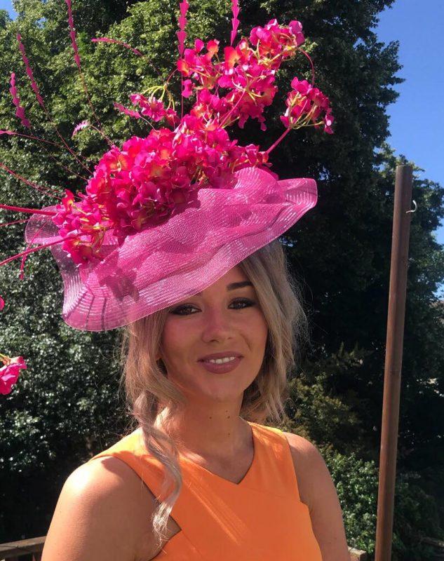 Stunning pink Royal Ascothatinator